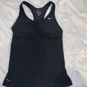Nike Dri-Fit womans workout tank top small